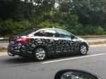 Erlkoenig - Ford Fiesta Stufenheck I