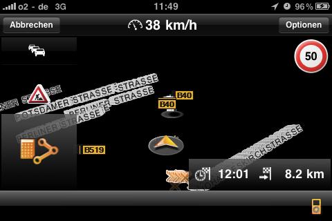 iOS4 Navigon Mobile Navigator Bug