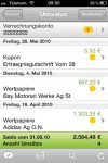 comdirect App: Saldo Abfrage 1