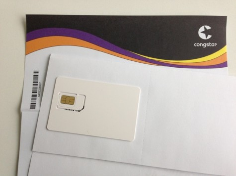 Congstar SIM-Karte