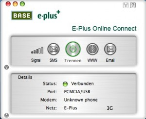 E-Plus Online Connect Software