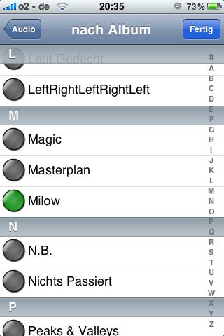 PlugPlayer Auswahl