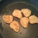 Valess Nuggets in der Pfanne