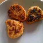 Valess Nuggets auf dem Teller
