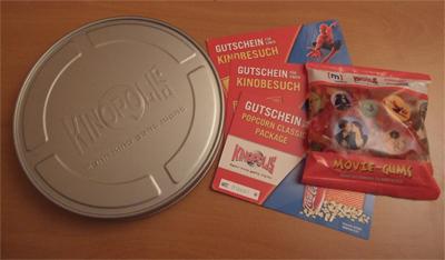 Kinopolis Gutscheine ;)