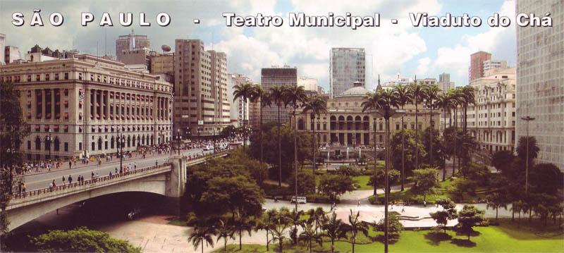 Sao Paulo Postkarte